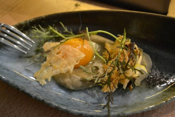 Restaurant Miles Bordeaux - Oeuf basse température
