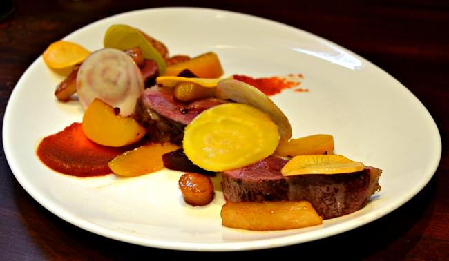 Gastronomie Magret de Canard aux Pêches
