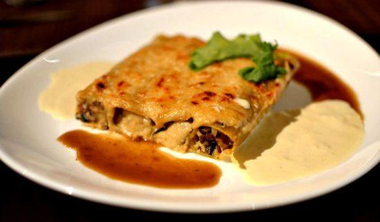 Cannellonis Farcis Foie Gras Cèpes Parmesan