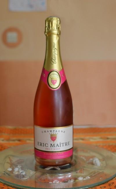 Champagne Eric Maître Brut Rosé