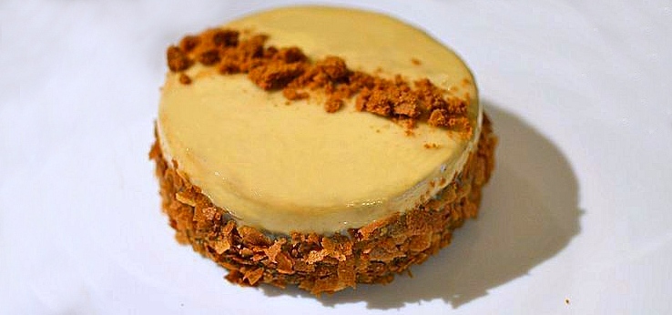 Entremet Dulcey Pomme Speculoos