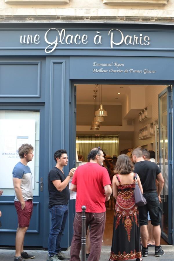 Une Glace à Paris Emmanuel Ryon