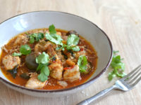 Poulet au curry rouge recette facile