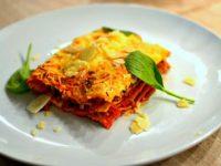 Lasagnes bolognaise traditionnelles italiennes