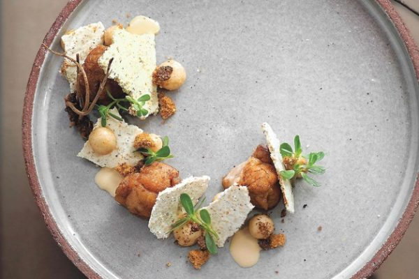 David Toutain recette ris de veau champignons noisette