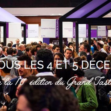 Le Grand Tasting, 10e édition ce weekend !
