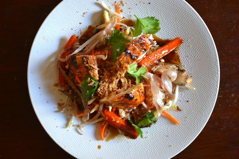 Poulet à la citronnelle vietnamien traditionnel : la ...