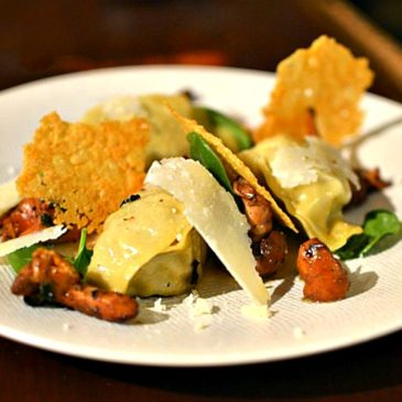 Raviolis de veau à la sauge et parmesan, recette aux saveurs italiennes