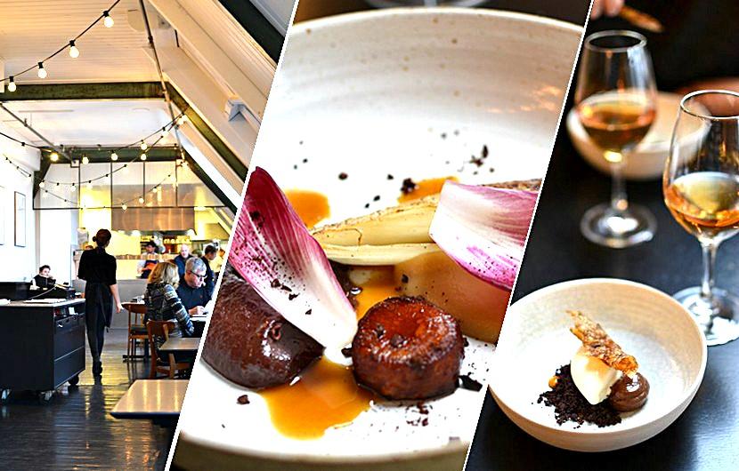 Le Bak, super restaurant créatif à Amsterdam