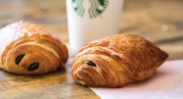 """Les """"chocolate croissant"""" de chez Starbucks"""