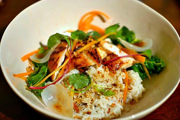 Poulet à la Citronnelle Vietnamien