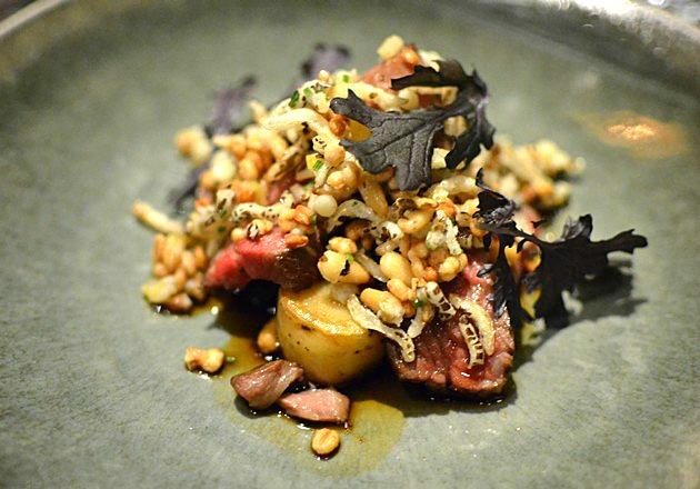 Rijks Restaurant Joris Amsterdam - Boeuf Granola Oignon Pomme de Terre 2