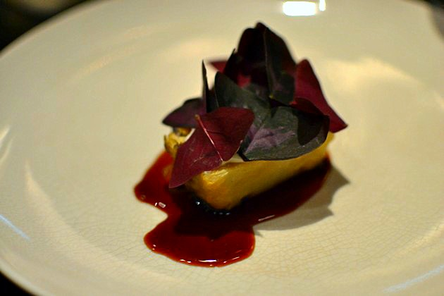 Rijks Restaurant Joris Amsterdam - Celeri lardé crème d'huître
