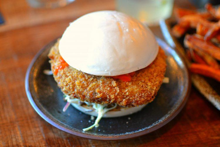 Bao Burger Poulet - Siseng Paris X