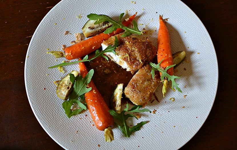 Poulet en croûte de citron à la Worcestershire sauce : recette originale et élégante