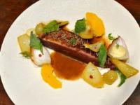 Canard à l'orange gastronomique et fenouil