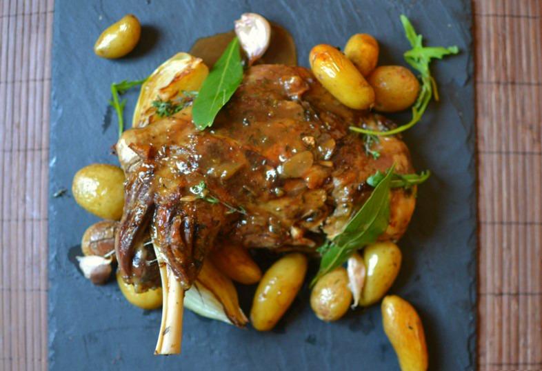 recette reste agneau cuit