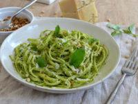 Pates au pesto genovese basilic recette italienne