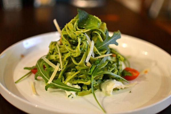 Tagliatelles au pesto de basilic - Pesto Alla Genovese
