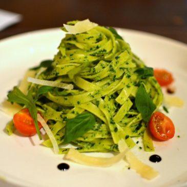 Tagliatelles au Pesto de Basilic ! (Pesto alla Genovese)