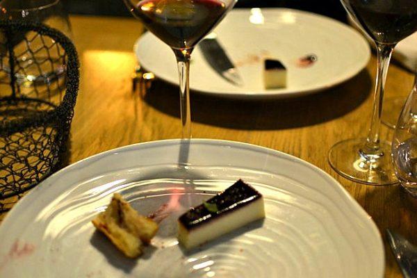 Ossau Iraty confiture de cerise noire - Restaurant Pirouette, Paris