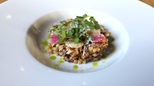 restaurant-pirouette-paris-fregola-sarda-canard-betteraves