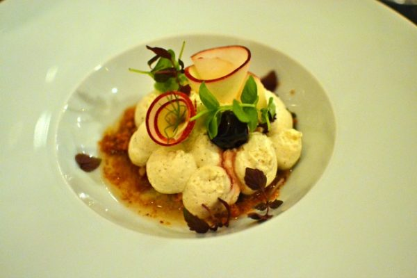 Restaurant italien IDA Paris Denny Imbroisi - Tiramisu Cerise Nectarine