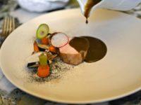 Restaurant Quintonil - Dinde mole recado Negro Pickes