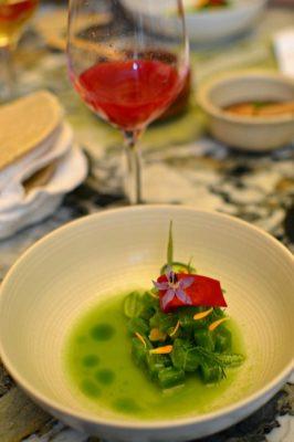 Restaurant Quintonil - Tartare de Cactus - Betteraves - Concombre