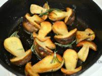 La cuisson des cèpes à la poêle
