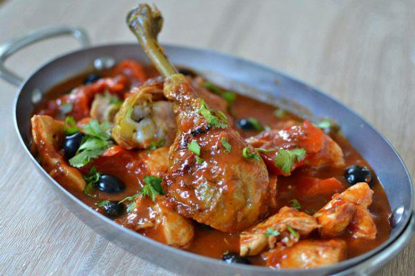Poulet a la provencale olive recette