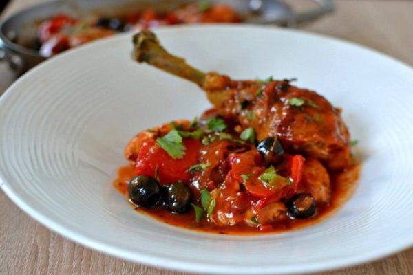 Poulet a la provencale recette