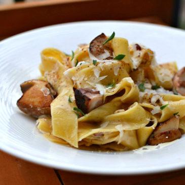 Pâtes aux cèpes : une recette facile et délicieuse faite maison
