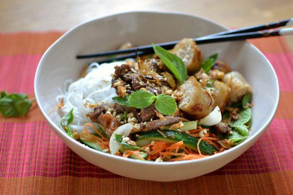 recette bo bun vietnamien boeuf