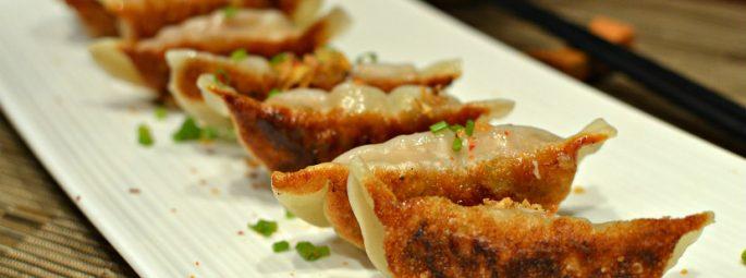 Raviolis chinois grillés au porc – Guotie : le croustillant made in China