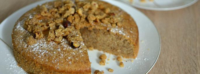 Gâteau moelleux aux noisettes : la recette facile et faite maison