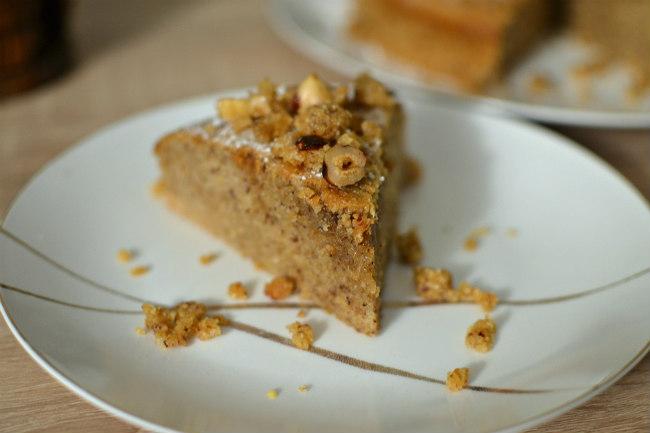 Gâteau moelleux aux noisettes - la recette