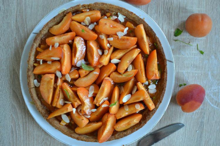 Tarte abricots amandes recette maison
