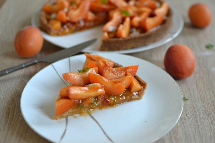 Tarte abricots et amandes recette