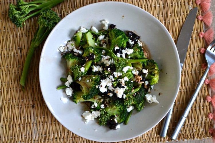 salade brocoli feta et olives