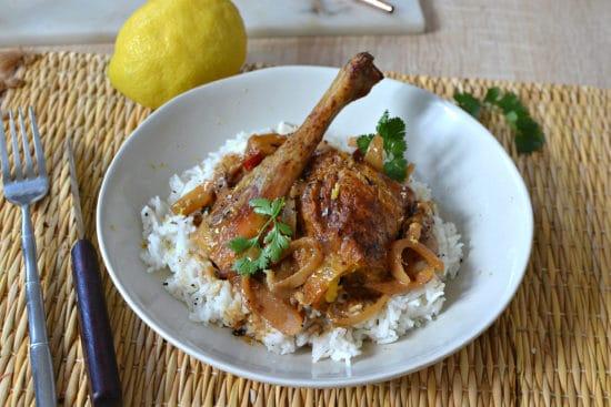 Poulet yassa recette senegalaise traditionnelle
