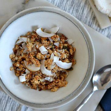 Granola à la noix de coco : la recette bien croustillante et parfumée
