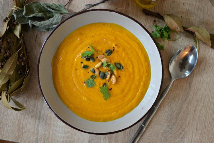 Veloute potimarron soupe facile