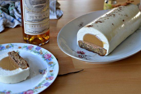 buche caramel vanille recette