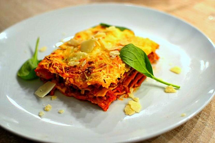 Lasagnes bolognaise traditionnelles la vraie recette italienne - Cuisine italienne recette ...