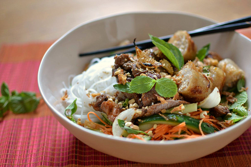Bo bun vietnamien au boeuf la vraie recette facile et - Recette de cuisine gastronomique francaise ...