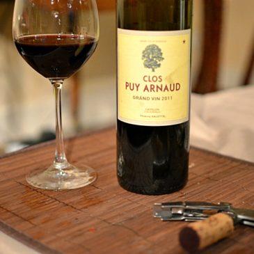 Clos Puy Arnaud 2011 (Castillon – Côtes de Bordeaux)