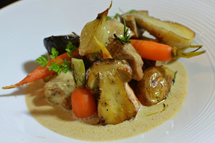 Blanquette de veau aux cèpes gastronomique