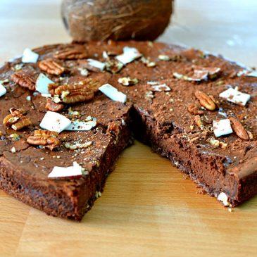 Fondant au chocolat et noix de coco : super, super fondant !