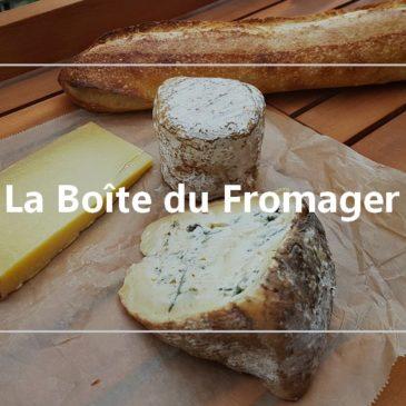 Une box fromages : la boîte du fromager